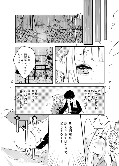 mitokuma 玉藻御前 九尾の狐