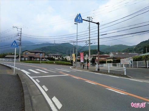 県道701号の終点