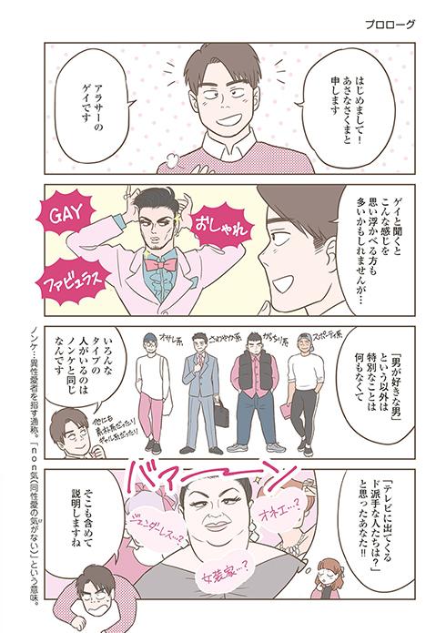 ゲイ 漫画 ノンケ