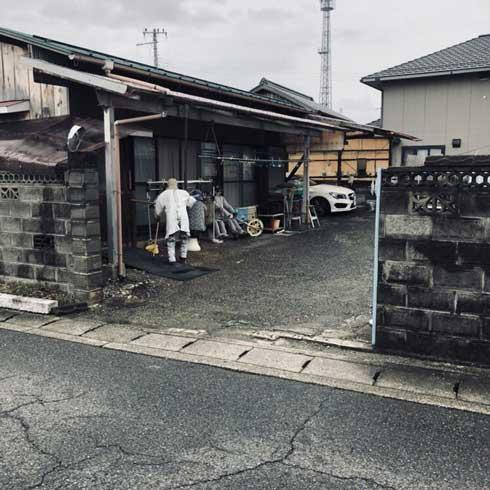 人に見える 全部 かかし ゾッとする 滋賀 東近江市 山上新田 バス停 集落 怖い