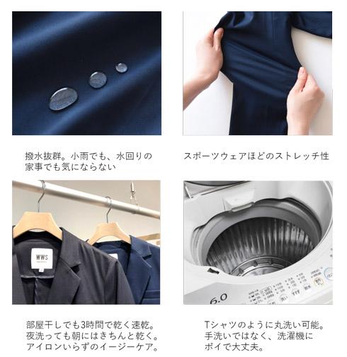 ワークウェアスーツの特徴