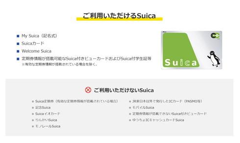 記念SuicaでIC企画乗車券を購入