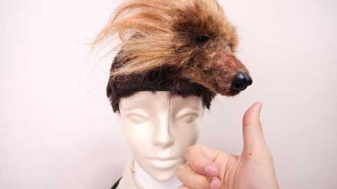 全て 人間の毛 人毛 犬 羊毛フェルト バレッタ 手作り マネキン 髪 圧倒的不審者の極み YouTube