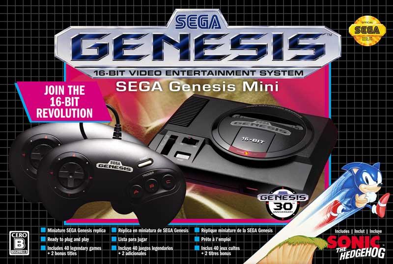 【ゲーム】メガドライブミニの北米バージョン「Sega Genesis Mini」が数量限定で発売