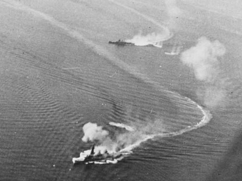 日本海軍 最上 重巡洋艦 航空巡洋艦 ミッドウェー海戦
