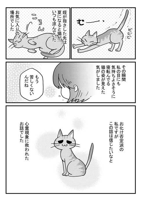 この夏体験した お化け 漫画 猫 姪っ子 見える 亡くなった 心霊現象 救われた