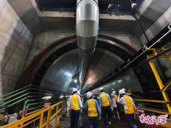 羽沢トンネル