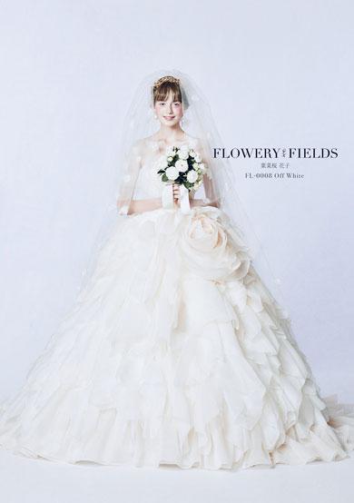 葉菜桜花子 お花のドレス 花言葉 ウエディングドレス ブランド 絵