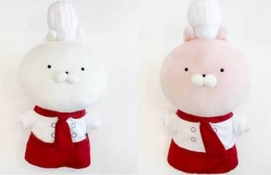 ぬいぐるみ(うさまる、うさこ計2種)(発売日は後日公開)/2400円