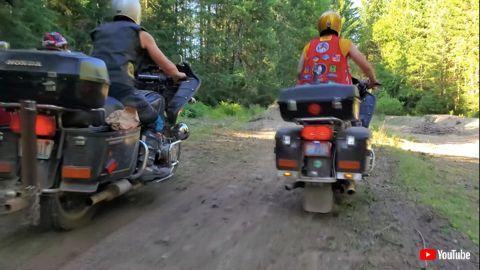 ゴールドウイング モトクロス オフロード バイク