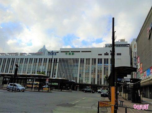 平塚駅の東口に来ました