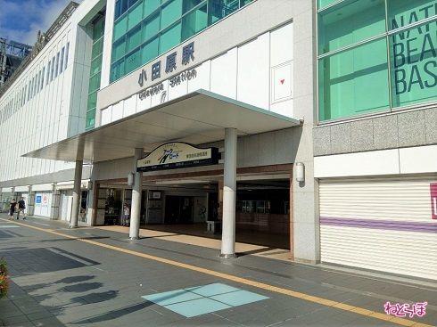 小田原駅に着きました