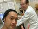 内田朝陽、2016年から髄膜腫を患っていたと告白 「もう治ったので投稿」と写真も