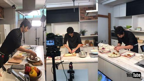 速水もこみち M's TABLE YouTube チャンネル 料理 MOCO'Sキッチン 開設