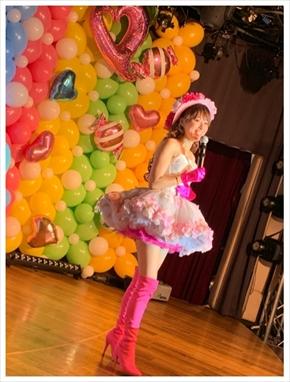 渡辺美奈代 アイドル おニャン子クラブ ミニスカ 現在 50歳 バースデーライブ ブログ