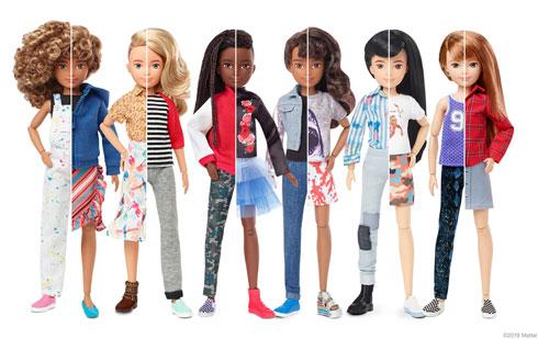 マテル バービー人形 ジェンダー ニュートラル フリー Creatable World 新発売