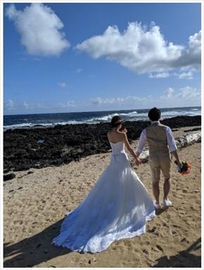小林麻耶 夫婦 結婚 あきら。ウエディングフォト ハワイ ハレクラニ ブログ