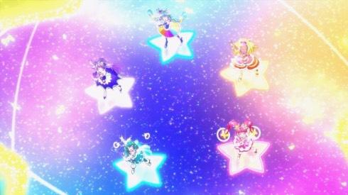 映画スター☆トゥインクルプリキュア 3DCGダンス映像 ミラクルライト キュアスター キュアミルキー