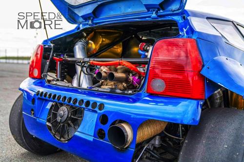 ルポ魔改造 ドラッグレース コンパクトカー 軽自動車 1800馬力