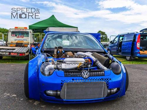 VW ルポ 魔改造 ドラッグレース コンパクトカー 軽自動車 1800馬力