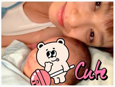 永夏子 小池徹平 息子 子ども 出産 生後1カ月 ブログ