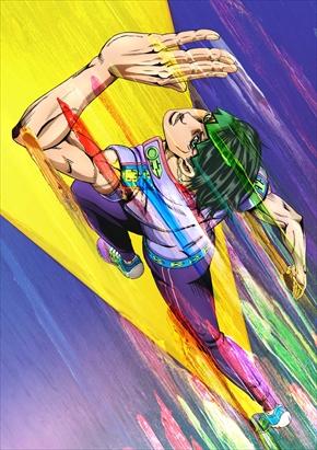 岸辺露伴は動かない ジョジョの奇妙な冒険 OVA キービジュアル 懺悔室 ザ・ラン