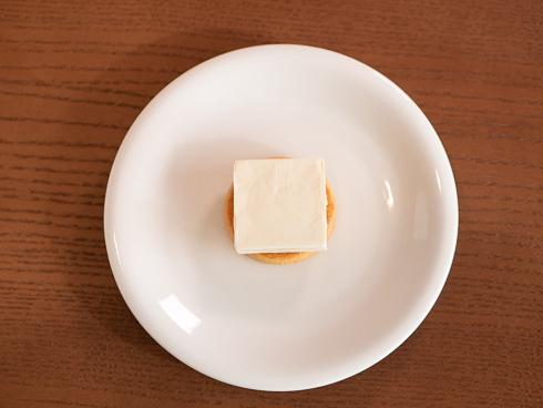 ソルティチーズケーキ 調理過程2