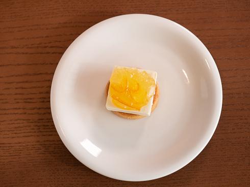 ソルティチーズケーキ 調理過程3