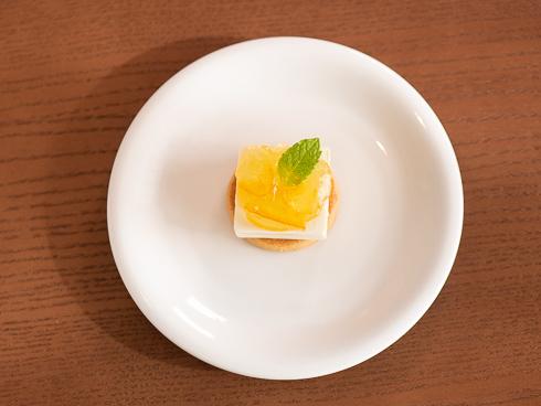 ソルティチーズケーキ 調理過程4