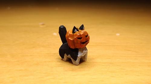 ジャックランタン猫