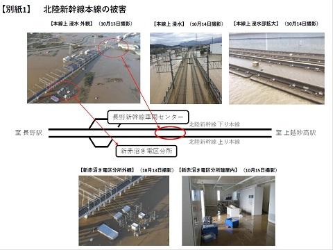 北陸新幹線 被害 まとめ JR東日本 詳細