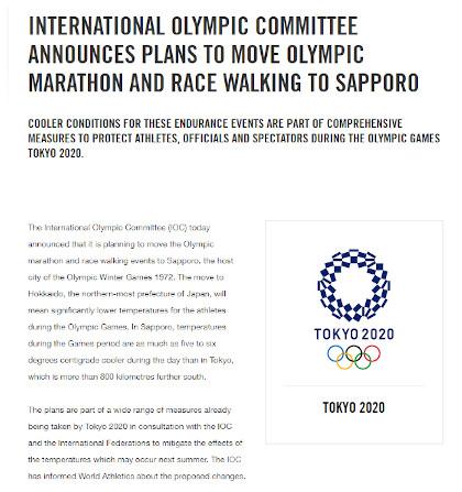 マラソン・競歩が札幌開催