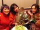 「ブレブレだけど3人とも幸せそう」 桐谷美玲&ブルゾンちえみ、水川あさみの結婚を祝福 久々3ショットに喜びの声