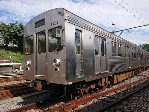 伊豆急8000系無ラッピング電車