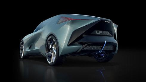 世界初公開 レクサス EVコンセプトカー LF-30