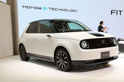 """Honda e"" ホンダ 東京モーターショー"