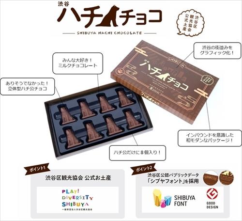 渋谷ハチチョコ
