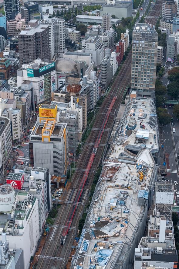 sibuya 渋谷スカイ SHIBUYA SKY スクランブル交差点