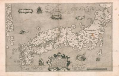 ブランクス/モレイラ 日本図(1617年)