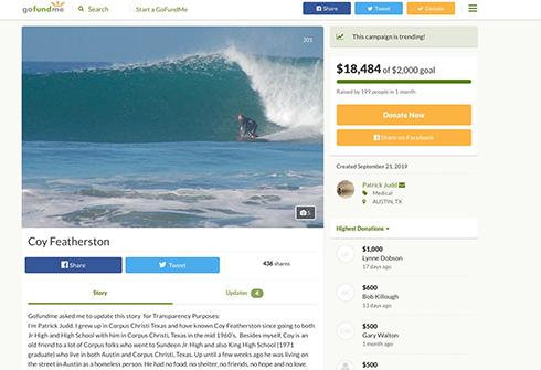 ホームレス男性がクラウドファンディングに成功 1カ月で200人が20万円を支援