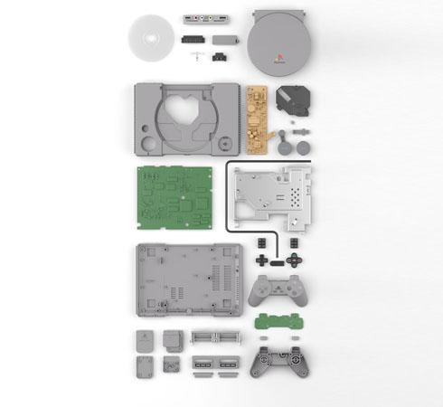 ゲーム機プラモ