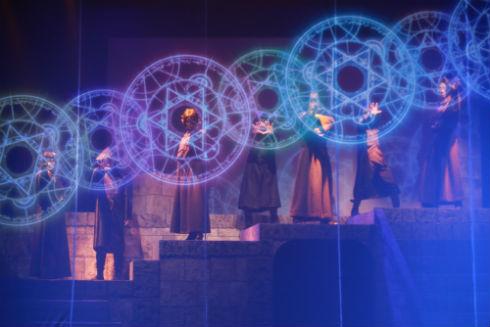 魔術士オーフェン 舞台 クリーオウ マジク ボルカン ドーチン アザリー ウォール・カーレン 秋田禎信