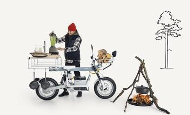 電動バイク CAKE シンプル