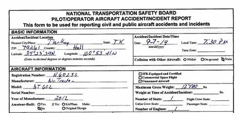 飛行機が1300リットルの水を放出して墜落 赤ちゃんの性別披露イベントで事故