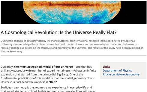 「宇宙は平坦ではなく閉じている」 国際研究チームが観測データを解析して発表