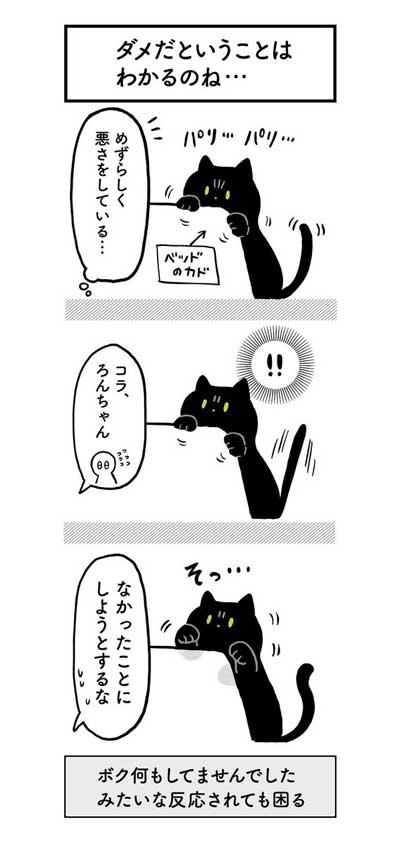 黒猫ろんと暮らしたら AKR 漫画 単行本 ろんの絵日記 猫 かわいい