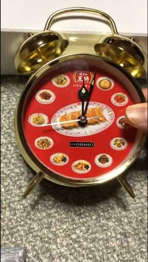 餃子の王将 目覚まし時計 朝 笑ってしまう CM 二人の餃子 スタンプ 賞品