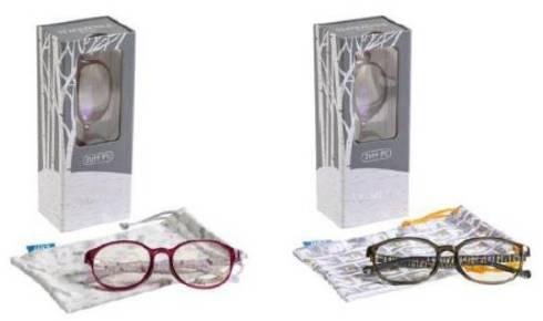 Zoff PC CLEAR PACK(FROZEN II)オリジナルのメガネ拭き素材のポーチイメージ