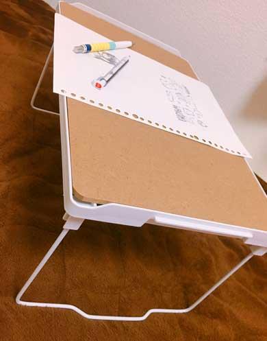 おこた風テーブル 3COINS 毛布 ブランケット こたつ 作れる ミニテーブル 500円