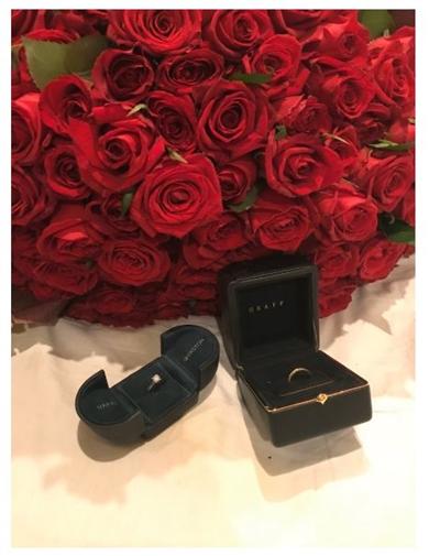 加藤紗里 結婚指輪 婚約指輪 ハリー・ウィンストン グラフ